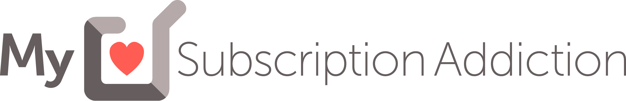 my subscription addiction logo
